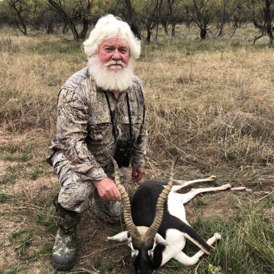 Black Buck Hunt in Texas